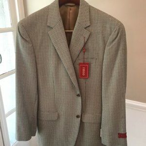 Multi Colored Houndstooth Sports Coat 42L